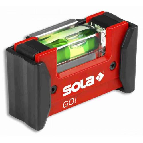 Kompaktais līmeņrādis SOLA GO! CLIP