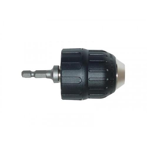 """Ātrās fiksacijas patrona 10mm ar 1/4"""" adapteri 6793D"""