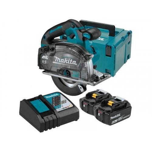 DCS553RGJ, Akumulatora ripzāģis metālam, 18 V, 2X6.0Ah,
