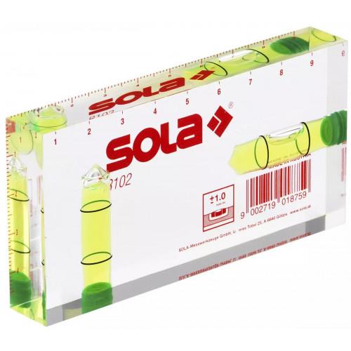 Kompaktais līmeņrādis SOLA R 102 Green