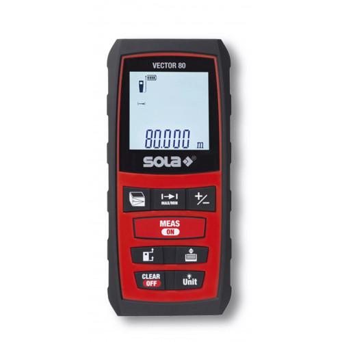 Lāzera distances mērītājs SOLA Vector 80